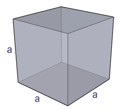 surface area of a perfect cube